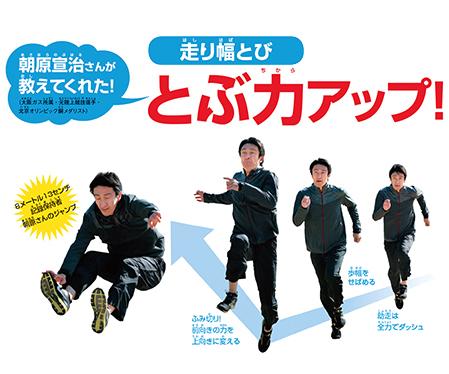 【体力テスト対策】朝原宣治さんが教えてくれた! 走り幅とびのコツ!