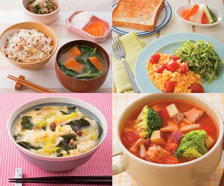 正しい生活リズムが元気のみなもと! 体にいい朝ごはんレシピ