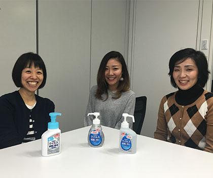 インフルエンザ、ノロウイルス に負けない </br>正しい手洗い・消毒を知ろう!