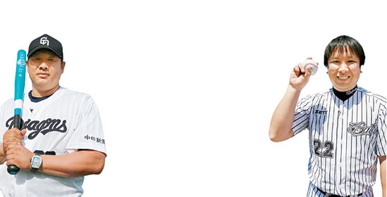 【秋8号動画】里崎智也さん「投げる」&山崎武司さん「打つ」