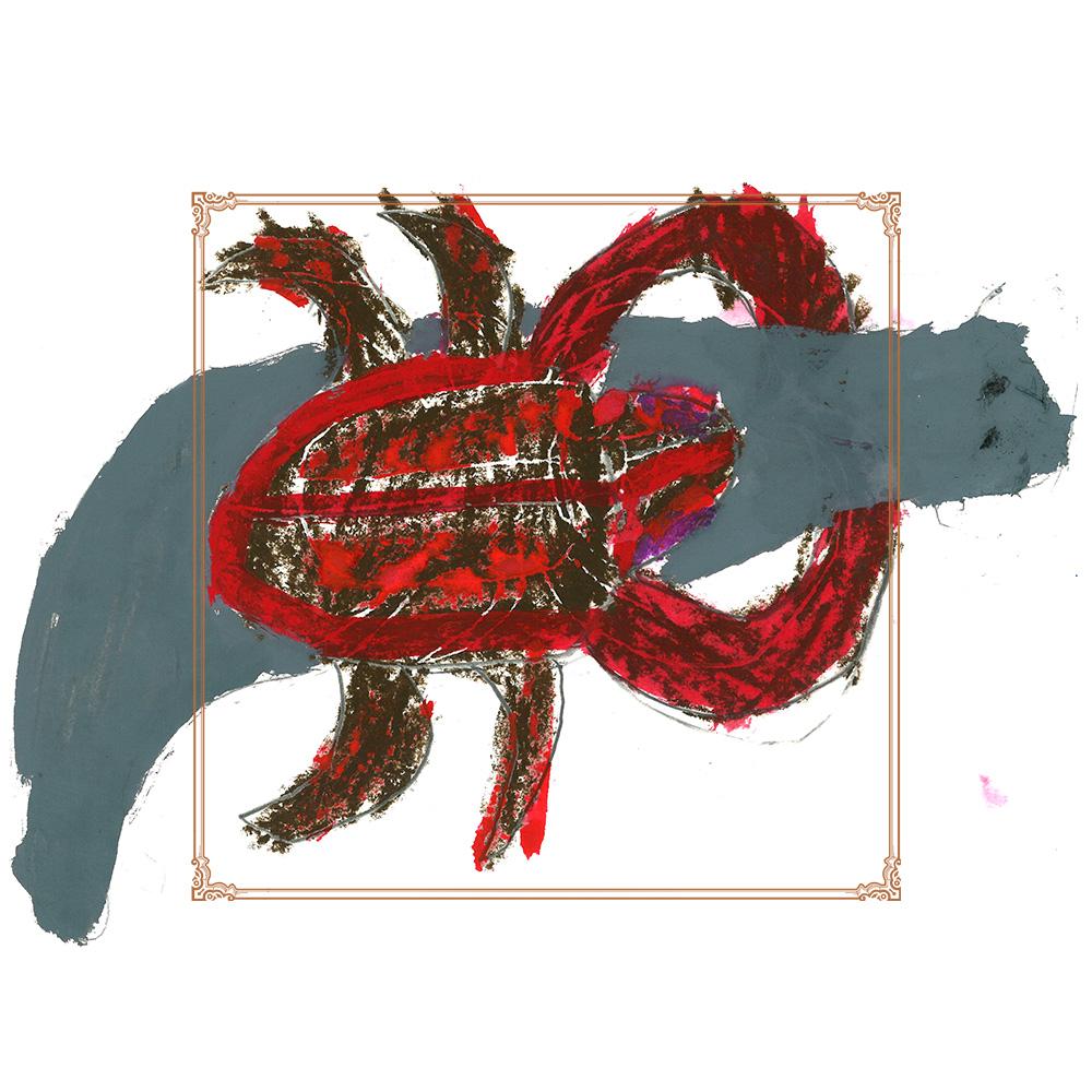 作品タイトル:オオコウラタガメ