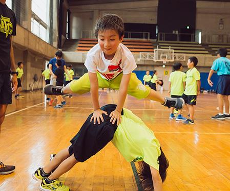 みんなで遊びながら楽しく体つくり運動!